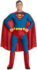 SUPERMAN CLASSIC COMIC BOOK SUPERHERO HALLOWEEN COSTUME ADULT SIZE LARGE 42-44