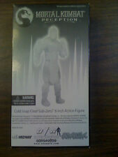 Mortal Kombat Deception Cold Snap Clear Subzero Figure NEW FREE SHIP US