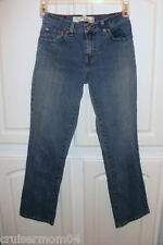 Levi's 550 Stretch Relaxed Bootcut Jeans Sz 6 Short VGC
