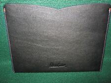 """iPad Sleeve """"ROBERT GRAHAM"""" (NIB)  """"Leather"""" Black- 9.7"""" Device"""