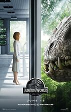Jurassic World  Dinosaur Action Movie Poster  Fridge Magnet Tool Box Decor #1