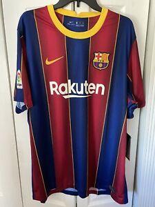 Nike FC Barcelona Barca Home Soccer Jersey 2020/21 CD4232-456 Men's Size XXL New