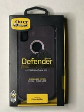 Otterbox Defender Series Case W/ Holster/ Belt Clip - For iPhone XS Max - Purple