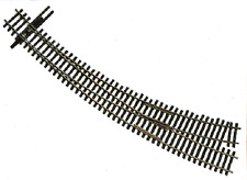 Walthers Shinohara code 83 #6.5 Left Hand Curved  Turnout (Switch)  HO scale