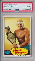 1985 Topps WWF Hulk Hogan Pro Wrestling Stars Card #1 PSA 9 Mint #5941