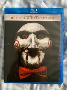 Saw 8 films  collection Blu ray