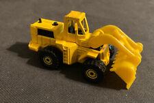 Vintage 1979 Hot Wheels Workhorses Yellow 3 Wheel Loader Die Cast 1:64 Toy
