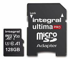 Integral UltimPro 128GB Micro SD Tarjeta 4K Ultra-HD video premium de alta velocidad Memor