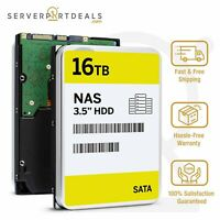 "16TB SATA 7200RPM 3.5"" NAS HDD Comparable with Exos Enterprise ST16000NM001G"