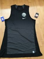 Golden State Warriors Nike Women Dri Fit Tank Top  Shirt Dry New Large Black