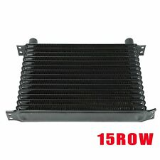 15 Row 10An Universal Aluminum Engine Transmission Oil Cooler New