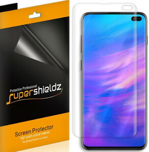 2X Supershieldz Clear Full Cover Screen Protector for Samsung Galaxy S10 Plus