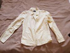 Women's / Girls yellow / blue check shirt / blouse / top LEE COOPER USA Large