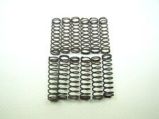"""Lot of 12 Brass Compression Springs 1-1/8"""" X 1/4"""" OD For Snap Shackles"""