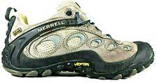 Merrell Chamelon Wrap GoreTex XCR Pewter Light Blue Womens 8.5 Hiking Boot Shoes