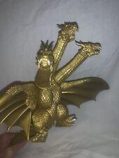 "2001/2002 BANDAI 16"" KING GHIDORAH Vinyl Figure Godzilla JAPAN with tag MINT"