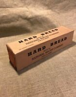 WWI US Army 1917 contract Hard Bread Hard Tack ration box National Biscuit Co