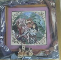Princess & Knight Cross Stitch Kit Something Special #50615 Fantasy 14x14 SEALED