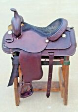 """Used Courts Saddlery Saddle 16"""" Seat Excellent Condition"""