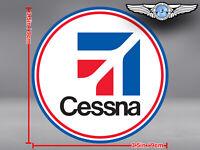CESSNA ROUND LOGO DECAL / STICKER