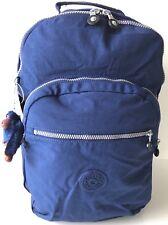 Kipling Seoul Backpack Laptop Protection Travel School Bag Ink Blue BP4412 NWT
