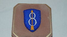 VINTAGE 8 DIVISION MILITARY PATCH 8 WITH A ARROW