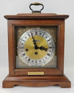 Howard Miller Graham Bracket Mantle Clock 340-020 German Mechanical Mvmt-Chimes