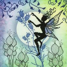 Bothy Threads Cross Stitch Kit - Harebell - Fairy design developed from artwork