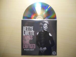BETTYE LAVETTE : THINGS HAVE CHANGED *PROMO FR 2018* [ CD SINGLE ]
