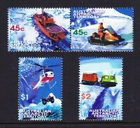 1998 AAT Australia Post - Design Set - MNH - Antarctic Transport - SG122 > SG125