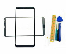 For LG Q6 M700 X600 US700 Black Front Outer Screen Glass Lens Replacement