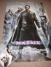 """THE MATRIX"" (Keanu Reeves) - Large Cinema Poster - Professionally folded flat"