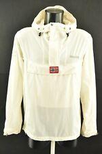 Bergans of Norway Men`s Anorak Zip Neck Hooded Packable Microlight Jacket size S