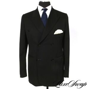 Dior Homme Black Unstructured DB 1V FF Suit Italy 54 52 42 44 New