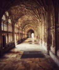5x7ft Hogwarts castle Monastery Abbey Passage Hallway backdrop party background