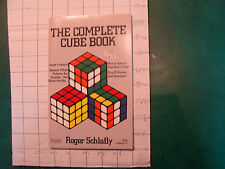 UNREAD Rubik Book: The Complete Cube Book roger Schlafly c. 1982, 51pgs