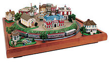 MTL Micro-Seasons 4th July Patriotic Liberty Town COMPLETE 9-BUILDING SET *NEW*
