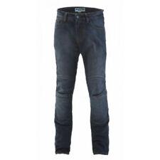 Pantalons toutes saisons bleus résistant à l'eau pour motocyclette