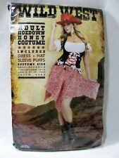 Wild West Sexy Cowgirl Adult Hoedown Honey Costume Halloween Adult Women New
