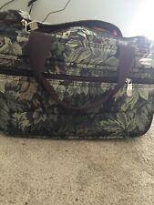"Vintage Pierre Cardin Luggage Bag Medium With Lock Sz 16"" Long 9"" High"