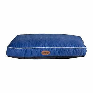 Silentnight Ultrabounce dog Pet Bed Medium Blue M Cabin puppy bed pillow