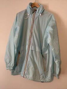 K-Way Packable Rain Jacket Men's XL - Hooded