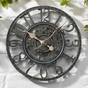 Outdoor Verdigris Newby Mechanical Wall Clock