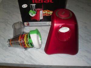 Tefal Fresh Express 5 Attachments Food Slicer Grater