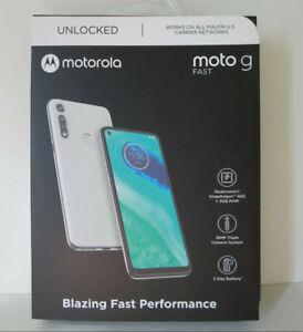 Motorola Moto G Fast Unlocked Smartphone 3+32GB Pearl White XT2045-3