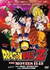 Dragon Ball Z The Movies 11 - 13  Japanese Animation HONG KONG ACTION MOVIE