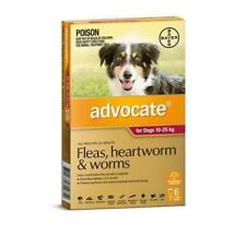 advocate Red Fleas Treatment for Dogs 10 - 25 kg , 6Pack
