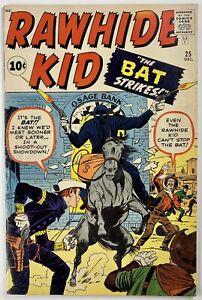 RAWHIDE KID #25 VG+ 4.5 Stan Lee Stories, Jack Kirby C/A, 1961 Marvel Comics