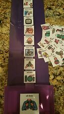 PURPLE&Purple Home PECS Visual Schedule Support Kit Aprexia-Autism-Language-ADHD