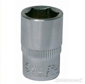 "8mm 1/4"" DRIVE HEX SOCKET CHROME VANADIUM"